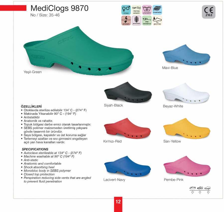 MEDICLOGS 9870 MERDANE (41-46) - Thumbnail